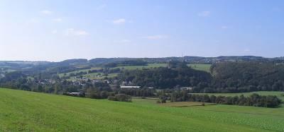 Der 513m hohe Gräbersberg im Dreifelder Weiherland - Bild von Milseburg (Wikipedia)